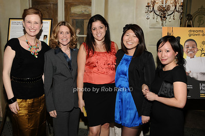 Kate Gressand, Lynn Macrone, Colleen McGins, Jolene Celisle, , Lisa Lim photo by Rob Rich © 2010 516-676-3939 robwayne1@aol.com