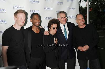 Teddy Thompson, Jon Batiste,  Willie Nile, David Moore, David Broza photo by Rob Rich/SocietyAllure.com © 2014 robwayne1@aol.com 516-676-3939