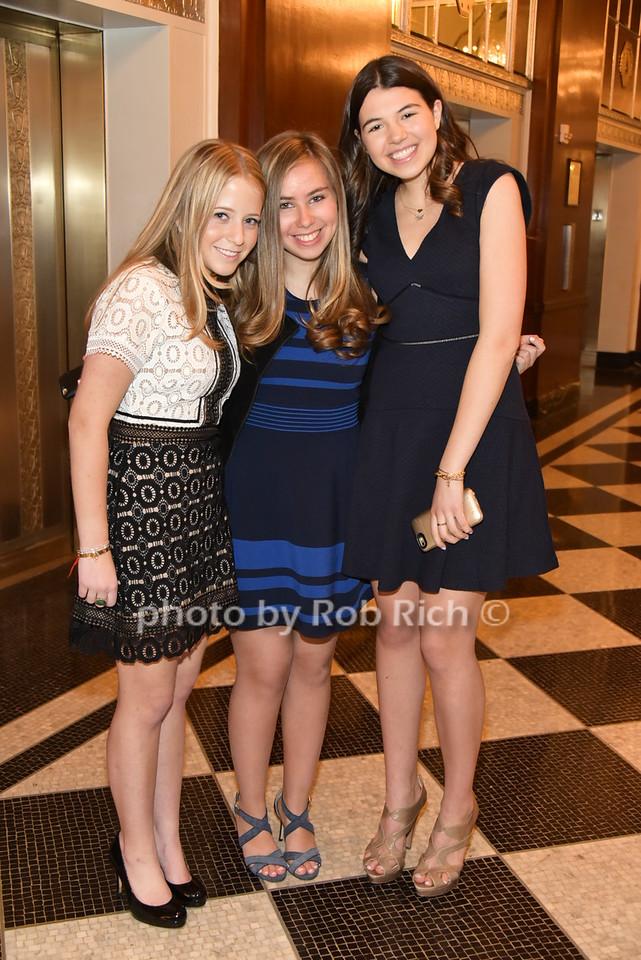 Melissa Sweetwood, Molly Roberts, Skylar Rosenphoto by Rob Rich/SocietyAllure.com © 2016 robwayne1@aol.com 516-676-3939