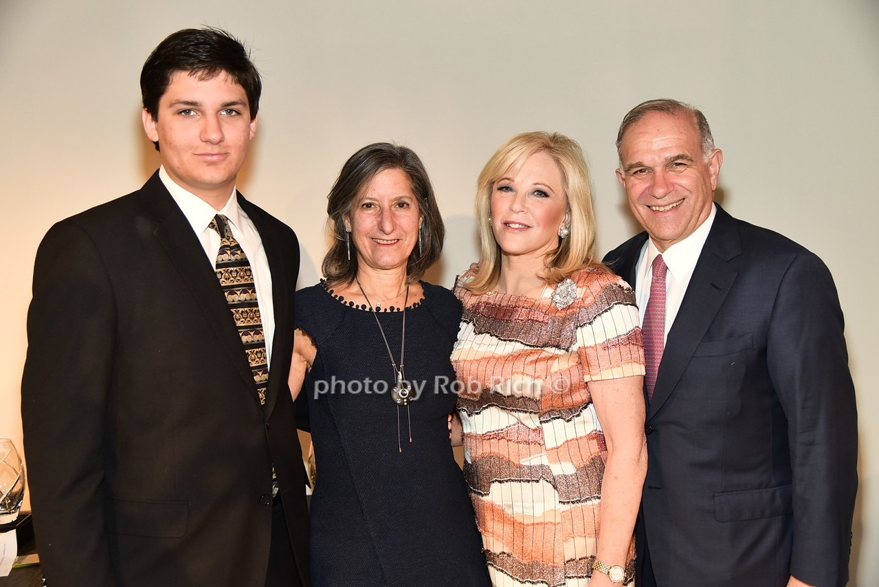 Steven DeCrescenzo, Judith Hannan, Nancy Brown, Dr. Peter Rubin