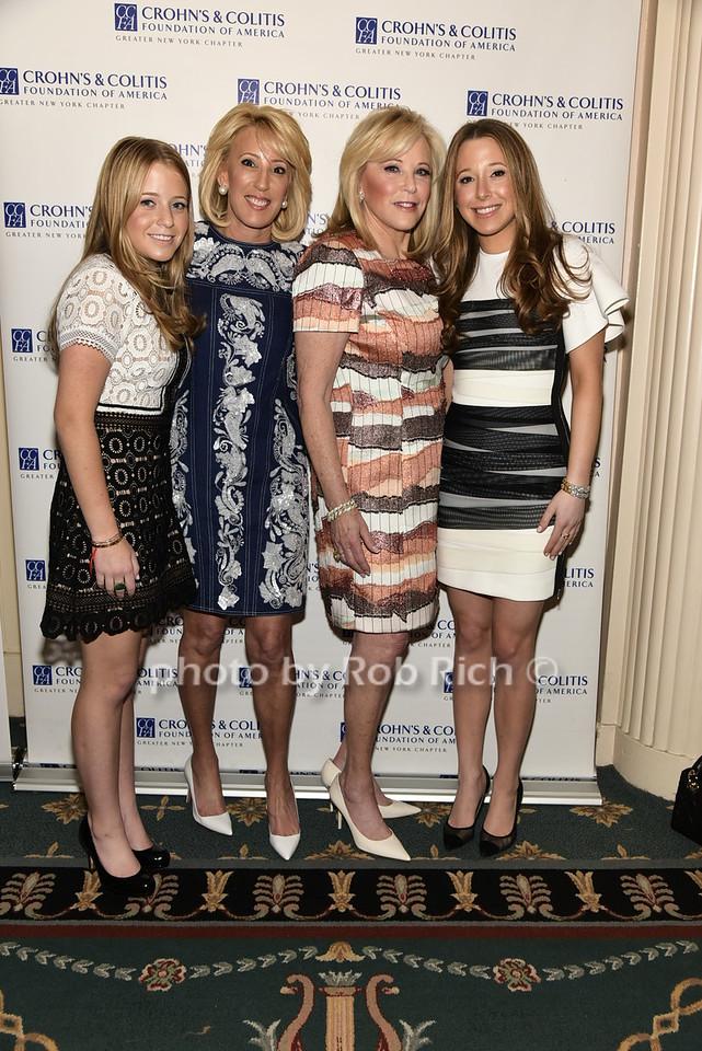 Melissa Sweetwood, Michele Sweetwood, Nancy Brown,  Amanda Sweetwoodphoto by Rob Rich/SocietyAllure.com © 2016 robwayne1@aol.com 516-676-3939