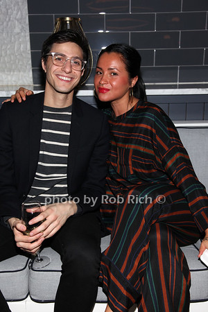 Gideon Glick, Carmen Zines photo by R.Cole for Rob Rich/SocietyAllure.com ©2017 robrich101@gmail.com 516-676-3939