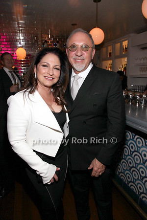 Gloria Estefan, Emilio Estefan photo by R.Cole for Rob Rich/SocietyAllure.com ©2017 robrich101@gmail.com 516-676-3939