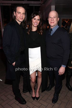 Jordan Roth, Kaylie Smith Westbrook, Richie Jackson photo by R.Cole for Rob Rich/SocietyAllure.com ©2017 robrich101@gmail.com 516-676-3939