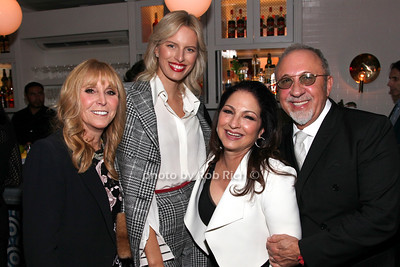 Iris Smith, Karolina Kurkova, Gloria Estefan, Emilio Estefan photo by R.Cole for Rob Rich/SocietyAllure.com ©2017 robrich101@gmail.com 516-676-3939