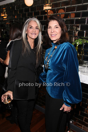 Susan Fixel, Kim Seybert photo by R.Cole for Rob Rich/SocietyAllure.com ©2017 robrich101@gmail.com 516-676-3939