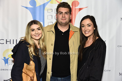 Tori Stamoulis, AJ Stamoulis, Aly Runnels photo by Rob Rich/SocietyAllure.com ©2017 robrich101@gmail.com 516-676-3939