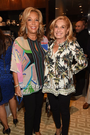 Denise Rich, Michelle Rella  photo by Rob Rich/SocietyAllure.com ©2018 robrich101@gmail.com 516-676-3939