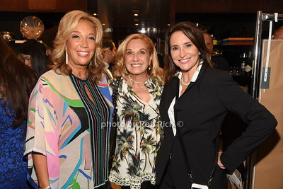 Denise Rich, Michelle Rella, Carole Crist  photo by Rob Rich/SocietyAllure.com ©2018 robrich101@gmail.com 516-676-3939
