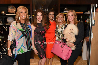 Denise Rich, Lauren Roberts, Queenie Singh, Michelle Rella, Sonja Morgan, Marley Morgan  photo by Rob Rich/SocietyAllure.com ©2018 robrich101@gmail.com 516-676-3939