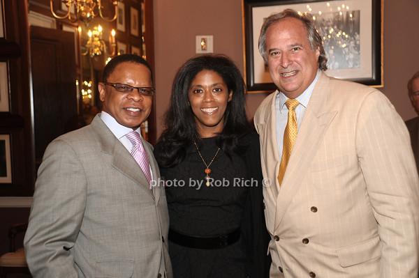 Stephen Byrd, Alia Jones, Stewart Lane<br /> photo by Rob Rich/SocietyAllure.com © 2012 robwayne1@aol.com 516-676-3939