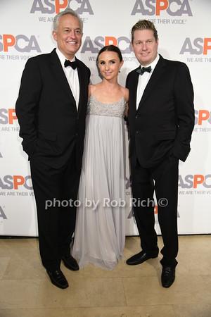 Mark Badgley, Georgina Bloomberg, and James Mischka