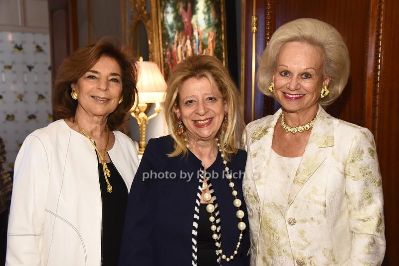 Marion Waxman, Mimi Perlman, Ingeborg Rennert  photo  by Rob Rich/SocietyAllure.com ©2017 robrich101@gmail.com 516-676-3939