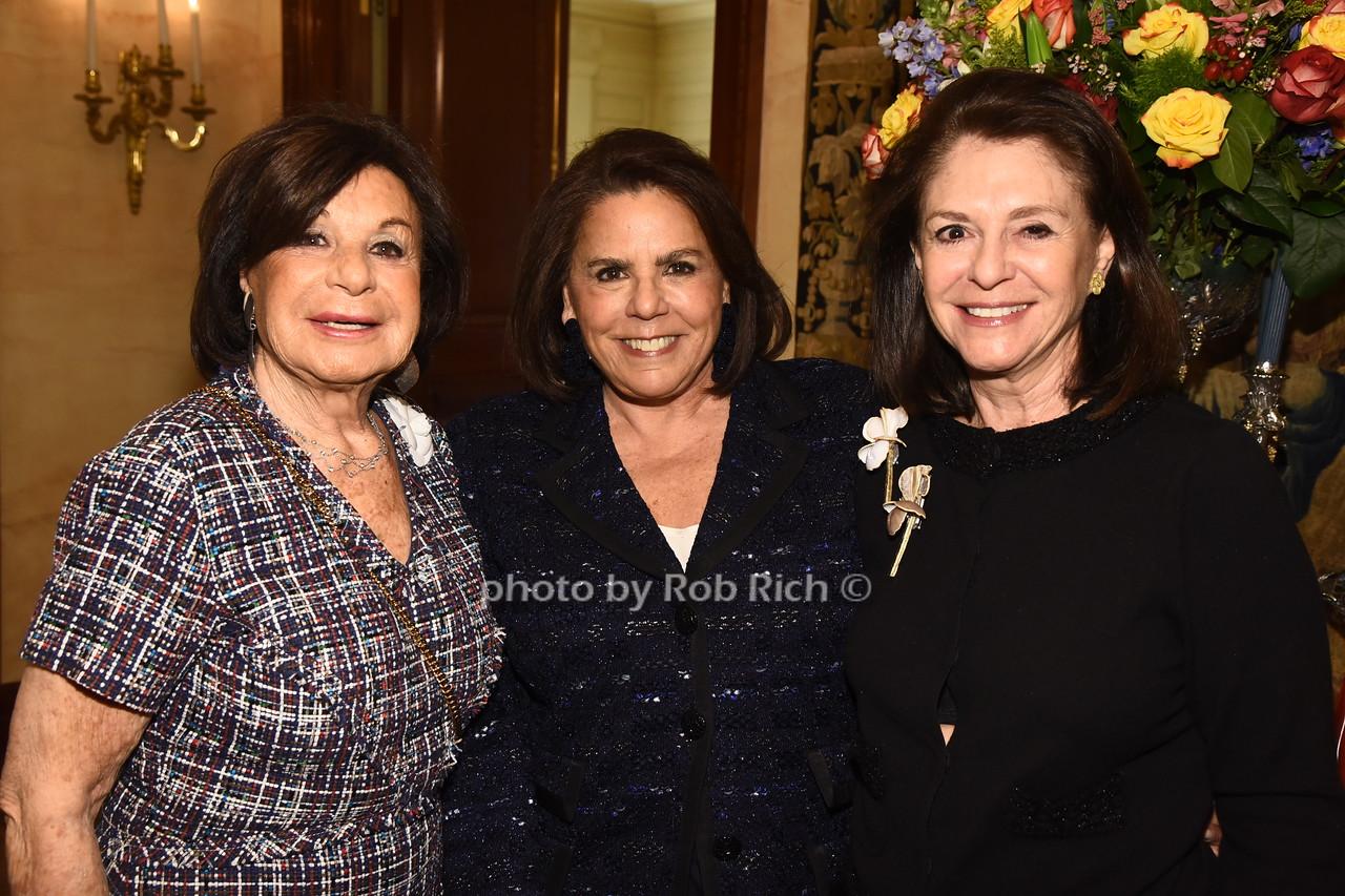 Vera Rausnitz, Arlene Doft,  Mady Harman  photo  by Rob Rich/SocietyAllure.com ©2017 robrich101@gmail.com 516-676-3939