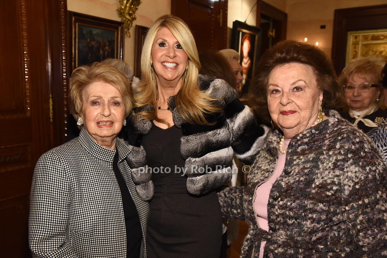 Paula Fishman, Lynn Fishman,  Rose Romerovski   photo  by Rob Rich/SocietyAllure.com ©2017 robrich101@gmail.com 516-676-3939