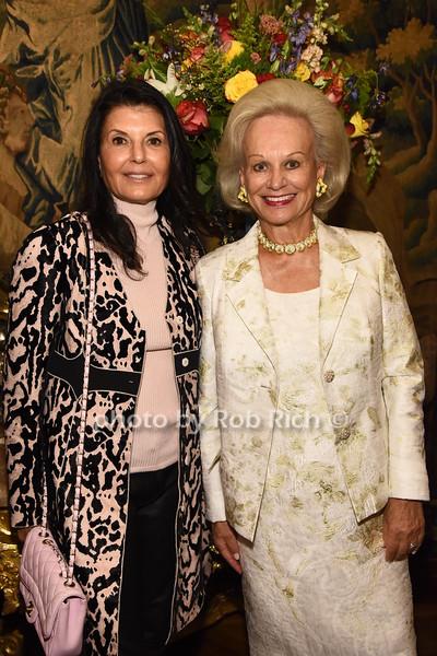 Renee Serure, Ingeborg Rennert  photo  by Rob Rich/SocietyAllure.com ©2017 robrich101@gmail.com 516-676-3939