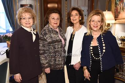 Bernice Schwartz, Rose Romerovski   , Marion Waxman, Mimi Perlman  photo  by Rob Rich/SocietyAllure.com ©2017 robrich101@gmail.com 516-676-3939