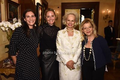 Michelle Goldwyn, Kim Heyman, Ingeborg Rennert, Mimi Perlman  photo  by Rob Rich/SocietyAllure.com ©2017 robrich101@gmail.com 516-676-3939