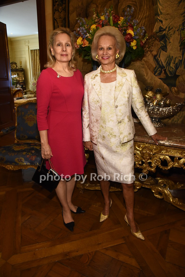 Nira Abramowitz, Ingeborg Rennert  photo  by Rob Rich/SocietyAllure.com ©2017 robrich101@gmail.com 516-676-3939