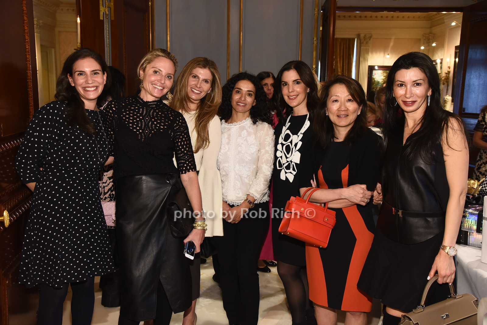 Michelle Goldwyn, Kim Heyman, Natasha Lelazarian,, Shevi  Peters, Shari Safra, Sandy Hoffen, Zina Rosen  photo  by Rob Rich/SocietyAllure.com ©2017 robrich101@gmail.com 516-676-3939