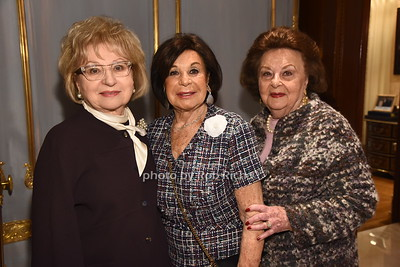Bernice Schwartz, Vera Rausnitz,  Rose Romerovski   photo  by Rob Rich/SocietyAllure.com ©2017 robrich101@gmail.com 516-676-3939
