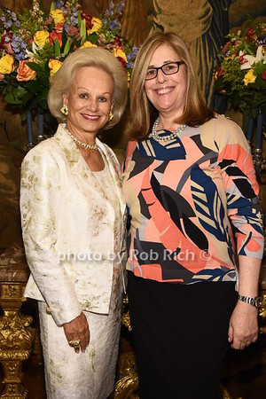 Ingeborg Rennert, Wendy Zizmor  photo  by Rob Rich/SocietyAllure.com ©2017 robrich101@gmail.com 516-676-3939
