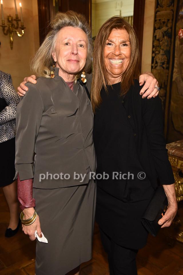 Hadassah Lieberman, Carolyn Gero  photo  by Rob Rich/SocietyAllure.com ©2017 robrich101@gmail.com 516-676-3939