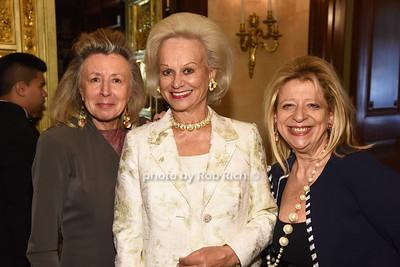 Hadassah Lieberman,Ingeborg Rennert, Mimi Perlman  photo  by Rob Rich/SocietyAllure.com ©2017 robrich101@gmail.com 516-676-3939