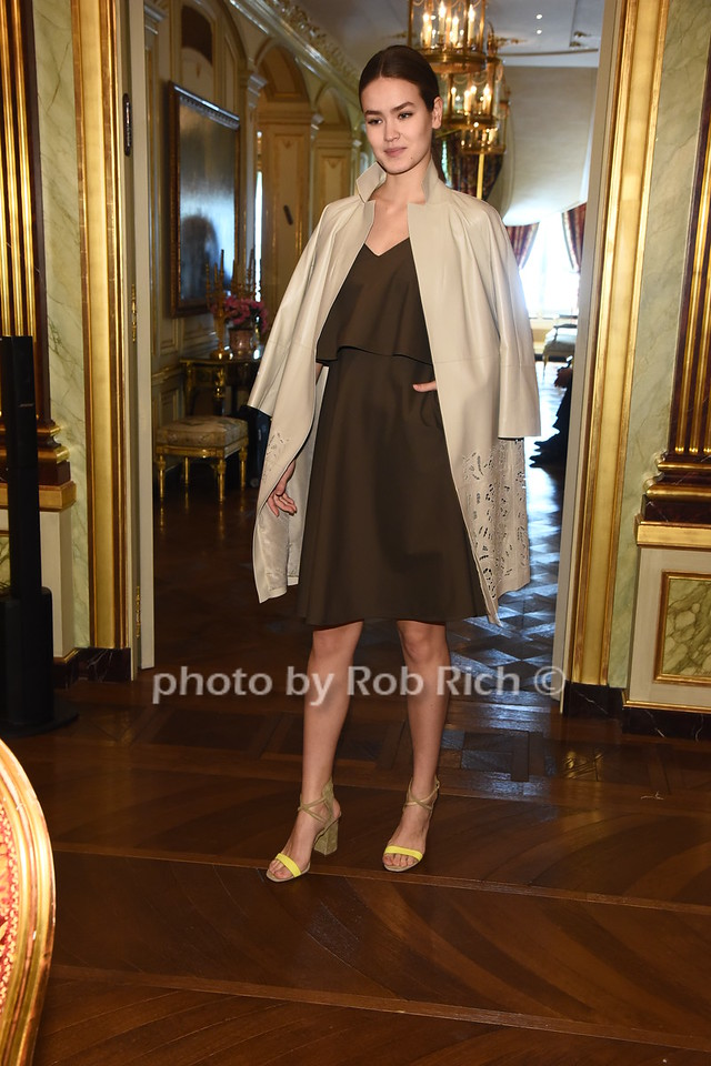 LAFAYETTE 148 Spring 2017 fashion collecton  photo  by Rob Rich/SocietyAllure.com ©2017 robrich101@gmail.com 516-676-3939