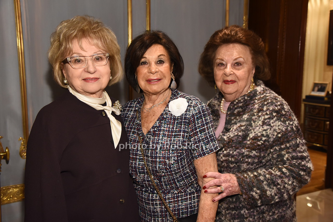 Bernice Schwartz,  Vera Rausnitz,  Rose Romerovski   photo  by Rob Rich/SocietyAllure.com ©2017 robrich101@gmail.com 516-676-3939