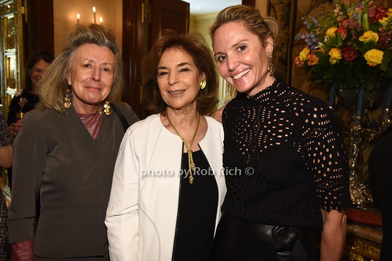 Hadassah Lieberman, Marion Waxman, Kim Heyman  photo  by Rob Rich/SocietyAllure.com ©2017 robrich101@gmail.com 516-676-3939