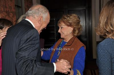 Leonard Lauder, Barbara Walters photo by Rob Rich/SocietyAllure.com © 2014 robwayne1@aol.com 516-676-3939