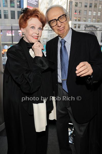 Arlene Dahl, The Amazing Kreskin<br /> photo by Rob Rich © 2010 robwayne1@aol.com 516-676-3939