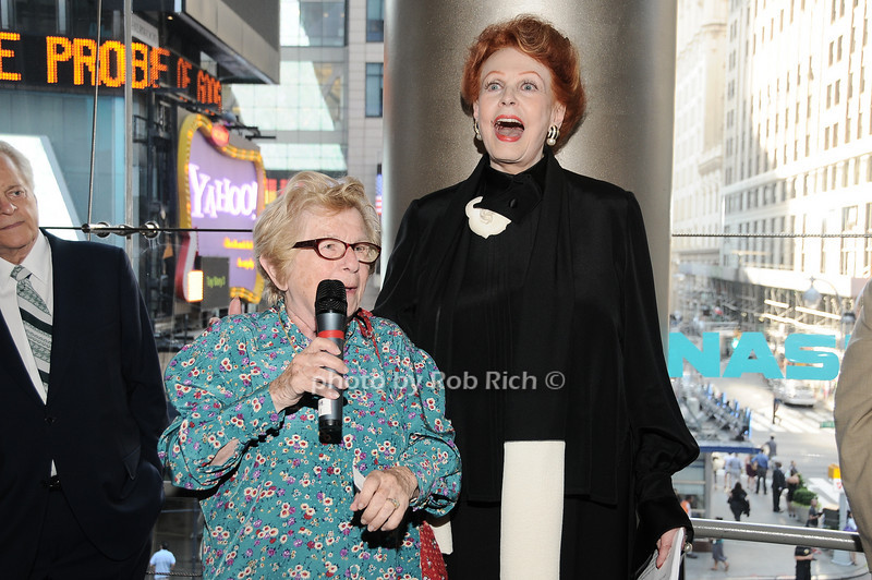 Dr.Ruth Westhimer, Arlene Dahl<br /> photo by Rob Rich © 2010 robwayne1@aol.com 516-676-3939