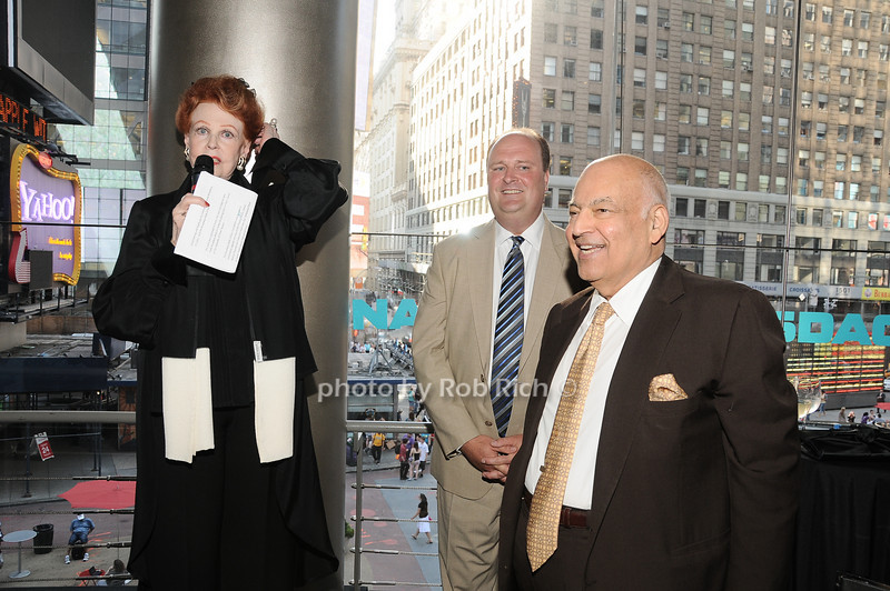 Arlene Dahl, David Wicks, Barry Cohen<br /> photo by Rob Rich © 2010 robwayne1@aol.com 516-676-3939