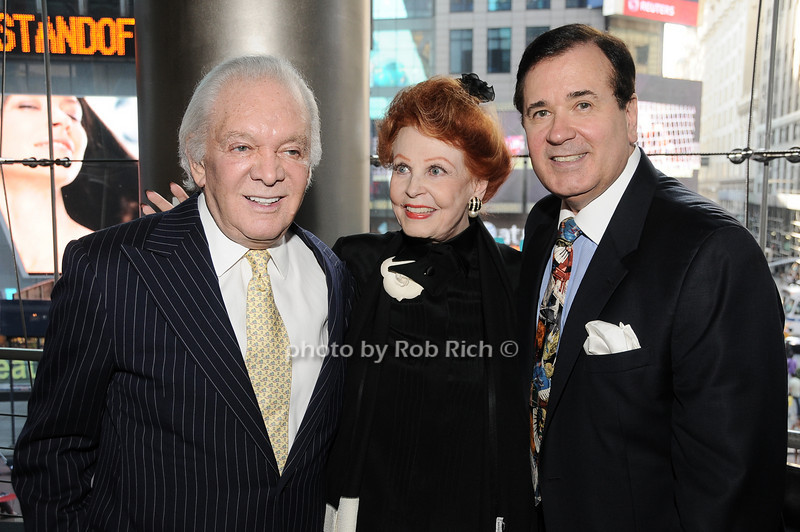 Marty Richards, Arlene Dahl, Lee Roy Reams<br /> photo by Rob Rich © 2010 robwayne1@aol.com 516-676-3939