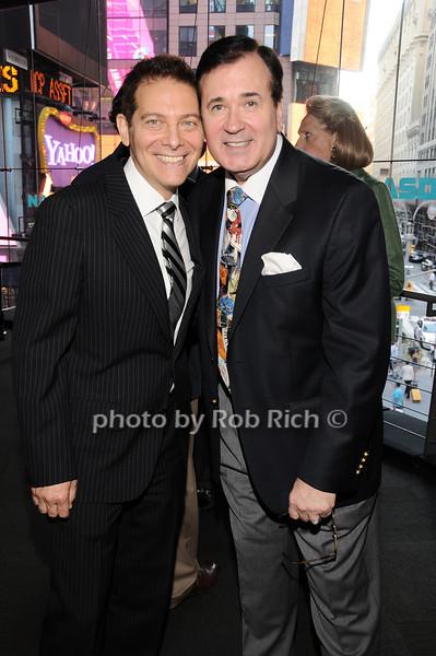 Michael Feinstein,, Lee Roy Reams<br /> photo by Rob Rich © 2010 robwayne1@aol.com 516-676-3939