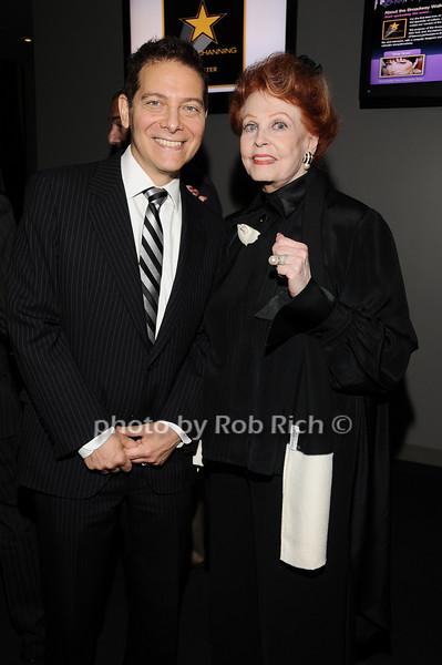 Michael Feinstein, Arlene Dahl<br /> photo by Rob Rich © 2010 robwayne1@aol.com 516-676-3939