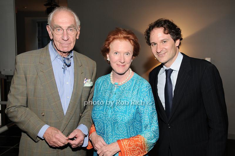 Richard Kaplan, Edwina Sandys, David Hryck<br /> photo by Rob Rich © 2010 robwayne1@aol.com 516-676-3939
