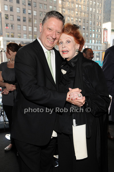 Stanley Zareff, Arlene Dahl<br /> photo by Rob Rich © 2010 robwayne1@aol.com 516-676-3939