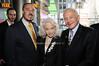 Marc Rosen, Lois Aldrin, Buzz Aldrin<br /> photo by Rob Rich © 2010 robwayne1@aol.com 516-676-3939