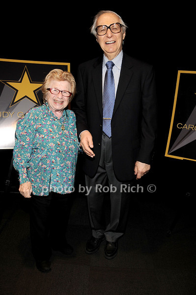 Dr.Ruth Westheimer, The Amazing Kreskin<br /> photo by Rob Rich © 2010 robwayne1@aol.com 516-676-3939