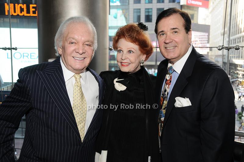 Marty Richards, Arlene Dahl, Lee Roy Reams<br /> photo by Rob Rich © 2010 robwayne1@aol.com 516-676-3939