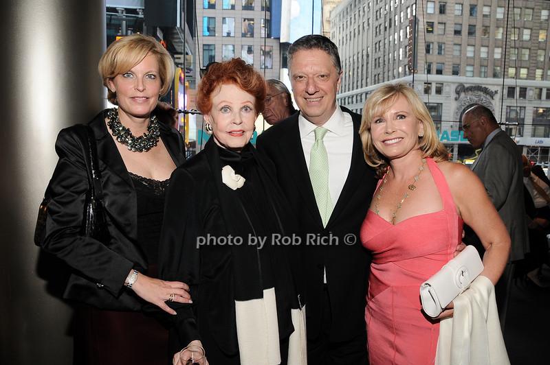 Carole Holmes, Arlene Dahl, Stanley Zareff, Sharon Bush<br /> photo by Rob Rich © 2010 robwayne1@aol.com 516-676-3939