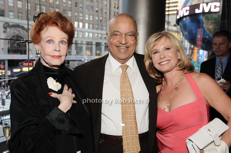 Arlene Dahl, Barry Cohen, Sharon Bush<br /> photo by Rob Rich © 2010 robwayne1@aol.com 516-676-3939