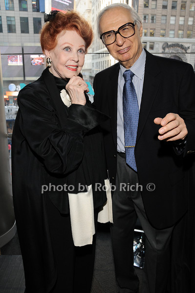 Arlene Dahl, The Amazing Kreskin<br /> photo by Rob Rich © 2010 robwayne1@aol.com 516-676-3939
