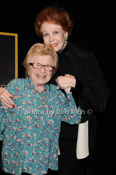 Dr.Ruth Westheimer, Arlene Dahl<br /> photo by Rob Rich © 2010 robwayne1@aol.com 516-676-3939