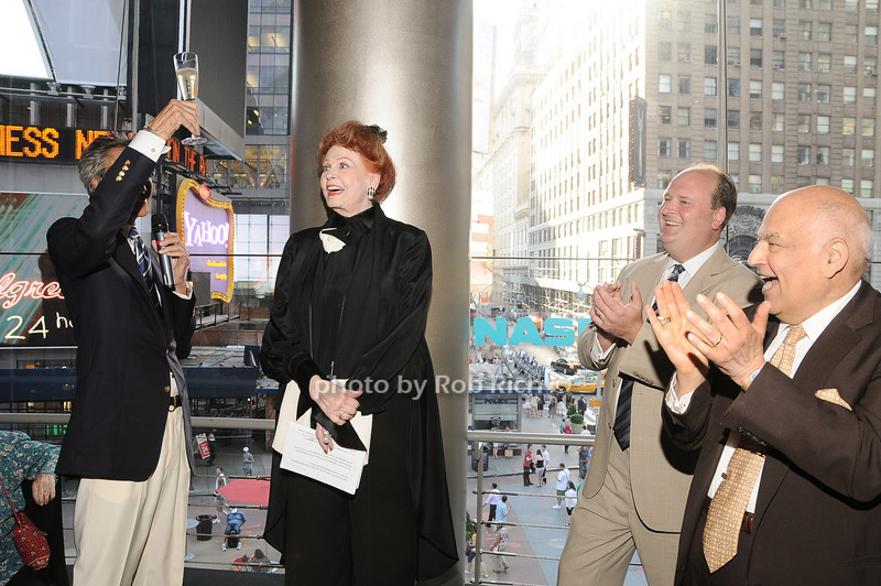 Tommy Tune, Arlene Dahl, David Wicks, Barry Cohen<br /> photo by Rob Rich © 2010 robwayne1@aol.com 516-676-3939
