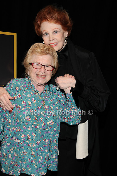 Dr.Ruth Westheimer, Arlene Dahl<br /> photo by Rob Rich © 2010 robwayne1@aol.com 516-676-3939