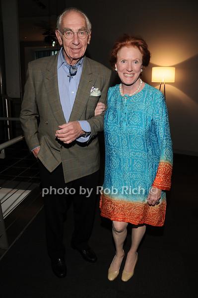 Richard Kaplan, Edwina Sandys<br /> photo by Rob Rich © 2010 robwayne1@aol.com 516-676-3939